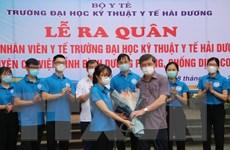 Dịch COVID-19: Khẩn trương hỗ trợ các địa phương phòng, chống dịch