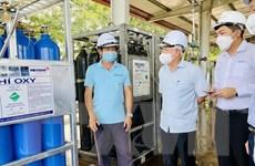 Công ty Khí Messer đáp ứng 1.600m3 khí oxy mỗi ngày, phòng chống dịch