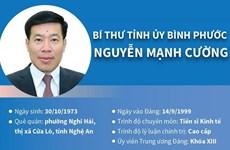 [Infographics] Bí thư Tỉnh ủy Bình Phước Nguyễn Mạnh Cường