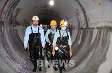 Đường hầm dẫn nước Dự án mở rộng Đa Nhim hoàn thành vượt tiến độ