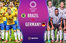 Lịch thi đấu bóng đá nam Olympic 2020: Tâm điểm Brazil-Đức