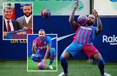 Depay không ngớt lời ca ngợi Messi trong ngày gia nhập Barcelona