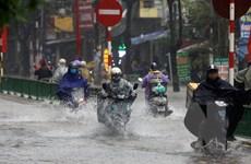 Hoàn lưu của áp thấp nhiệt đới gây mưa cho miền Bắc và Bắc Trung Bộ