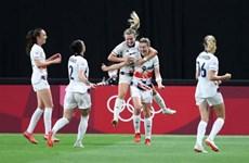 Xác định 2 đội đầu tiên vào tứ kết môn bóng đá nữ Olympic Tokyo