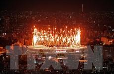 Trình diễn pháo hoa ấn tượng tại Lễ khai mạc Olympic Tokyo 2020