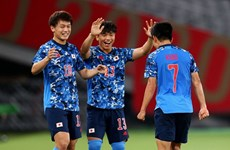 Kết quả lượt trận thứ 2 vòng bảng bóng đá nam Olympic Tokyo 2020