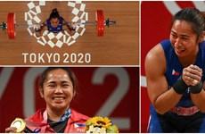 VĐV Philippines bật khóc sau khi giành tấm huy chương Vàng lịch sử
