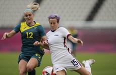 Bóng đá nữ Olympic Tokyo 2020: Đội tuyển Mỹ giành vé vào tứ kết