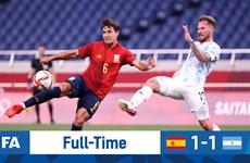 Kết quả bóng đá nam Olympic Tokyo 2020: U23 Argentina dừng bước