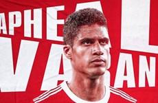 M.U đạt thỏa thuận chiêu mộ Raphael Varane từ Real Madrid
