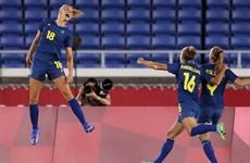 Thụy Điển đối đầu Canada ở chung kết bóng đá nữ Olympic Tokyo