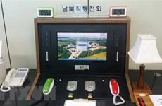 Triều Tiên trao đổi với Hàn Quốc qua đường dây nóng mới khôi phục