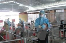 Bệnh viện Đa khoa Long An đón bệnh nhân đến khám, chữa bệnh trở lại