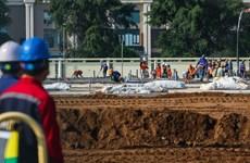 Thị sát xây dựng bệnh viện dã chiến, khu cách ly tập trung tại Hà Nội