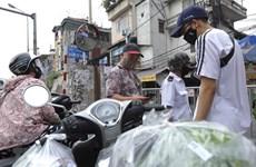 Hà Nội đảm bảo đủ hàng hóa thiết yếu cho người dân trong khu cách ly