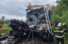 Tai nạn đường sắt nghiêm trọng tại Séc, hàng chục người bị thương