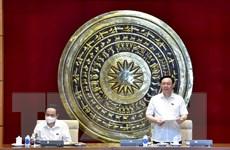 Chủ tịch Quốc hội làm việc với Ban Thường vụ Đảng ủy VP Quốc hội