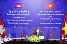 Việt Nam-Campuchia đẩy mạnh hợp tác phòng, chống tội phạm