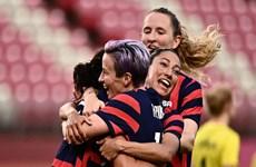 Tuyển Mỹ giành huy chương Đồng bóng đá nữ sau 'cơn mưa bàn thắng'