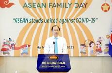 Ấm áp thân tình Ngày Gia đình ASEAN 2021, chung tay đẩy lùi COVID-19