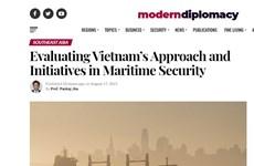 Sáng kiến của Việt Nam về an ninh hàng hải được đánh giá cao