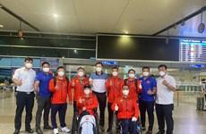 Paralympic Tokyo 2020: Đoàn Thể thao Việt Nam đã có mặt ở Tokyo