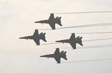 Afghanistan: Tiêm kích F-18 của Mỹ lượn vòng trên bầu trời Kabul