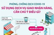 [Infographics] Sử dụng dịch vụ giao nhận hàng, cần chú ý điều gì?