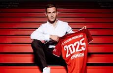 Tiền vệ Joshua Kimmich thi đấu cho Bayern Munich đến năm 2025