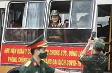 [Video] Tăng cường lực lượng phòng, chống dịch cho các tỉnh phía Nam