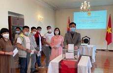ĐSQ Việt Nam tại Mông Cổ tổ chức tiếp nhận quyên góp ủng hộ chống dịch