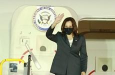 Phó Tổng thống Hoa Kỳ Kamala Harris bắt đầu chuyến thăm Việt Nam