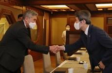 Hàn Quốc và Mỹ thảo luận thúc đẩy các cuộc đàm phán với Triều Tiên
