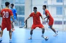 Tuyển Futsal Việt Nam lên đường sang Tây Ban Nha dự giải tứ hùng