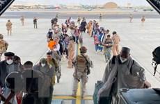 Tình hình Afghanistan: Tăng cường hoạt động sơ tán tại sân bay Kabul