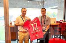 Cerezo Osaka muốn giao lưu với các câu lạc bộ bóng đá Việt Nam