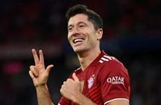 Lewandowski cán mốc đáng nhớ trong ngày Bayern vùi dập Hertha Berlin