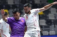 Tuyển Futsal Việt Nam thua đội bóng số 1 thế giới Tây Ban Nha
