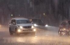 Các khu vực đều có mưa và dông, đề phòng khả năng xảy ra lốc sét