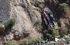 Peru: Xe buýt rơi xuống vực, hàng chục người thiệt mạng