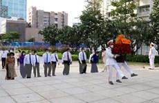 Lãnh đạo TP.HCM dâng hương, dâng hoa Chủ tịch Hồ Chí Minh