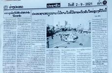 Báo chí Lào đề cao các thành tựu phát triển của Việt Nam