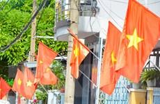 [Photo] Thành phố Đà Nẵng rực cờ đỏ kỷ niệm ngày Quốc Khánh