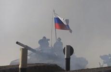 Đội tuyển xe tăng Nga về nhất chung kết Xe tăng hành tiến