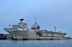 Tàu sân bay HMS Queen Elizabeth của Anh tới Nhật Bản