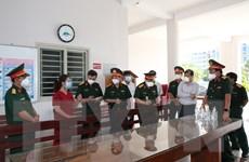Kiểm tra chống dịch COVID-19 tại Tây Ninh, trao tặng 3.000 túi thuốc