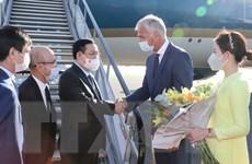 Chủ tịch Quốc hội bắt đầu thăm làm việc với EP và Vương quốc Bỉ