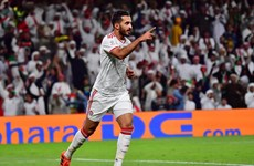 Tiền đạo của UAE san bằng thành tích ghi bàn của huyền thoại Pele