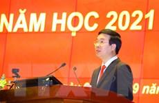 Học viện Chính trị quốc gia Hồ Chí Minh khai giảng năm học 2021-2022