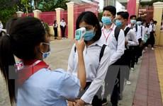 Campuchia: Phnom Penh mở cửa trở lại các trường trung học từ ngày 15/9